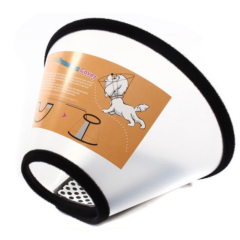 Dog Cat With Collar Bite-proof Protector Head Band Anti-Bite Torsion Circle Auditory Protection Pet Bath Collar Not Can Smoke Cu