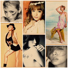Ayumi Hamasaki Classic Retro Poster Bar Home Decoration Painting