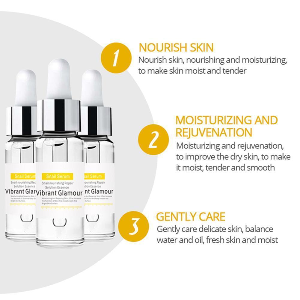Vitamin C Snail Essence Hyaluronic Acid Serum Reduces Serum Moisturizing Anti Whitening Liquid Line Fine Aging Face Anti Wr B0O6