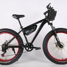 Ограниченное по времени предложение, специальная цена 1000W 48V 15AH Электрический велосипед рама из алюминиевого сплава для снегохода(26*4,0 горный велосипед русский пакет
