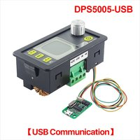 DPS5005 USB Constant DC   DC Voltage Current Step down Power Supply Module Buck Voltage Converter Voltmeter 50V 5A|Voltage Meters| |  -