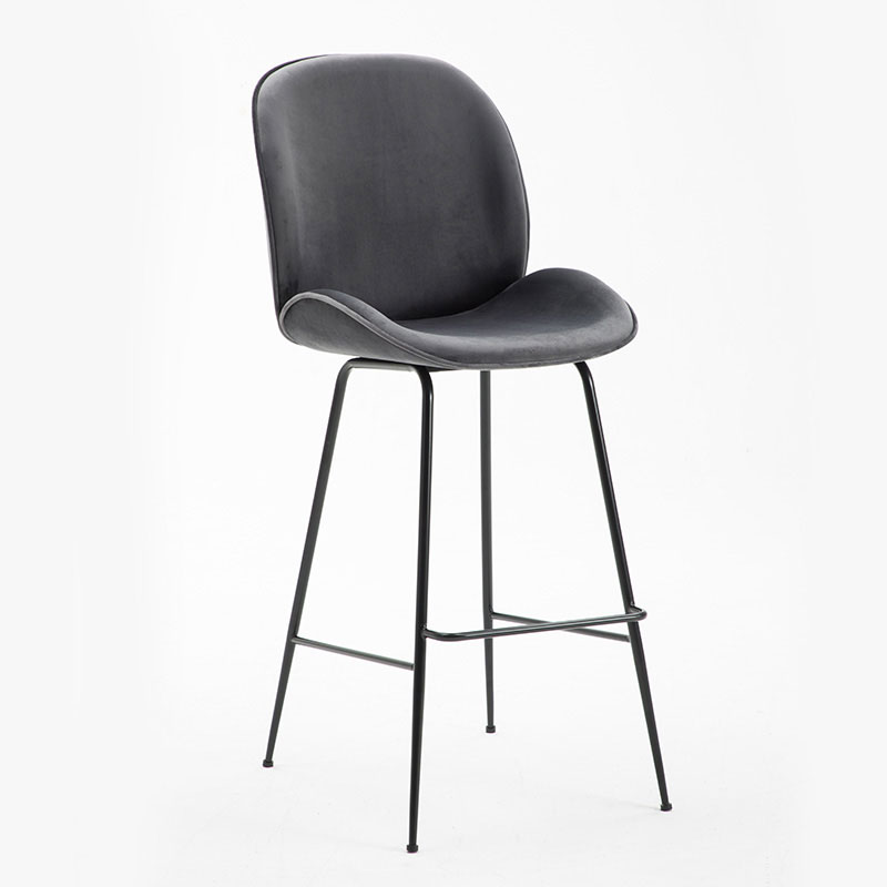 Bar Chair High Back Comfort Cushion Modern Minimalist Style Multiple Choices Easy To Install Home Must People Love