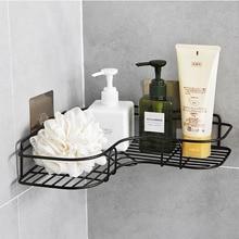 Creative Installation of Seamless Adhesive for Bathroom Corner Rack  Shelf Accessories
