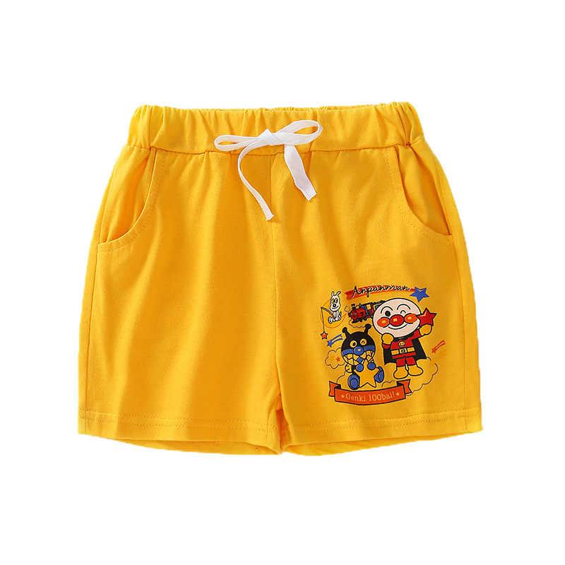 夏子供ショーツ子供ビーチパンツ綿の服少年少女のためのショーツ幼児のパンティー子供ビーチショートスポーツパンツベビー