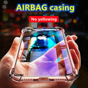 Luxury Shockproof Silicone Phone Case For iPhone 7 8 6 6S Plus 7 Plus 8 Plus XS Max XR