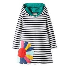 Kids Girls Dresses Clothes Animal Appliques