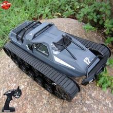 Моделирование внедорожной колесницы дети Электрический RC военная модель игрушки 1:12 EV2 гусеничный Автомобиль Дистанционное управление высокая скорость дрейф р/у танк