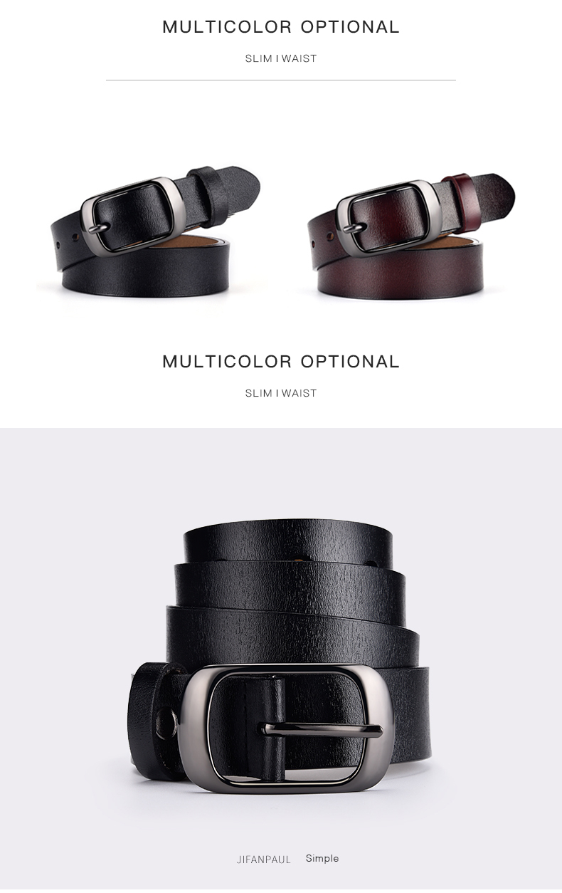 H03e1b479c9f34a88be868554ad48d9803 - JIFANPAUL Genuine leather ladies fashion retro punk belt alloy pin buckle high quality ladies business casual  trend jeans belt