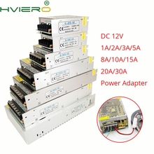 цена на AC 110V-240V TO DC 12V 2A 310A Driver Converter LED Transformer Power Supply switching Adapter For 5050 3528 2835 3014 Led Strip