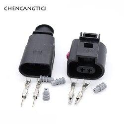 5 комплектов 2-контактный автоматический датчик температуры штепсельная вилка дефляционный клапан розетка водонепроницаемый электрически...