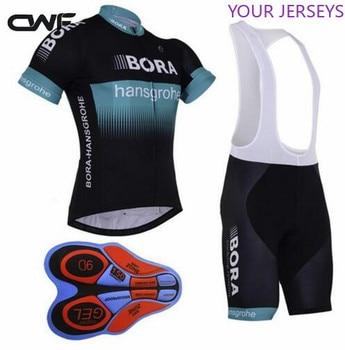 Todos Los 2021 Pro Equipo Rojo Verano Ciclismo Jersey Kits de Escocia Bicicleta Maillot MTB Bicicleta Ropa Ciclismo Gel Pad