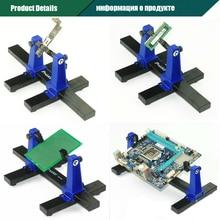 Pro'skit SN-390 Adjustable Soldering Clamp Holder PCB Holder Work Station Platform PCB Soldering Assembly Stand Clamp Fixture