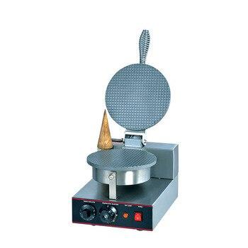 ZU 1 Single comercial eléctrico de helado de máquina rollo de huevo crujiente huevo máquina de cono de hielo máquina de helados|Máquinas de pizza en conos| |  -