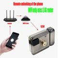 GALO имеет 10 тегов электронных RFID Дверной замок/умный электрический шок замок Магнитная Индукционная дверь в систему контроля доступа