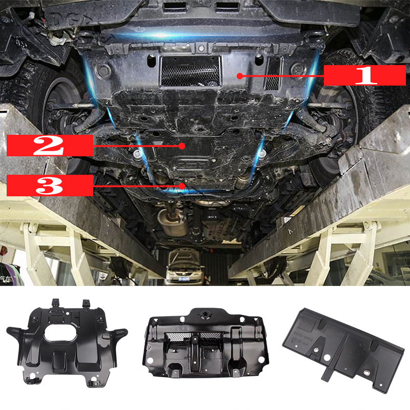 3pcs Auto Under Engine Splash ...