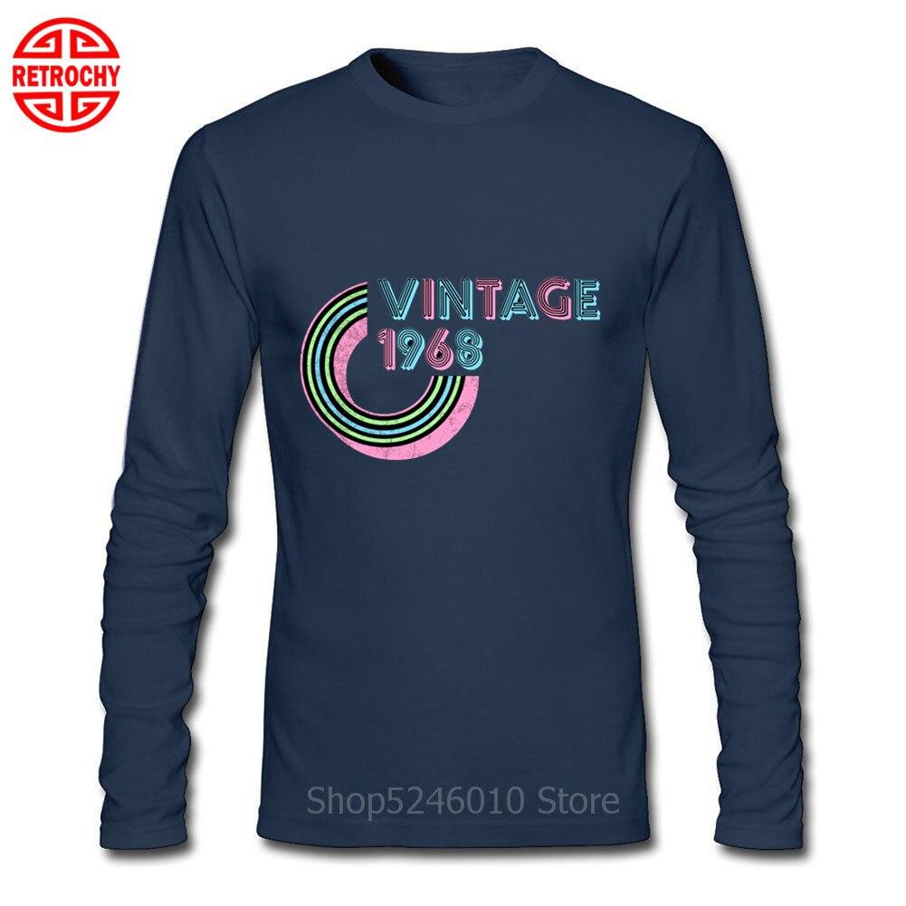 Printed T shirt tee star is born 1968 happy birthday present gift idea original
