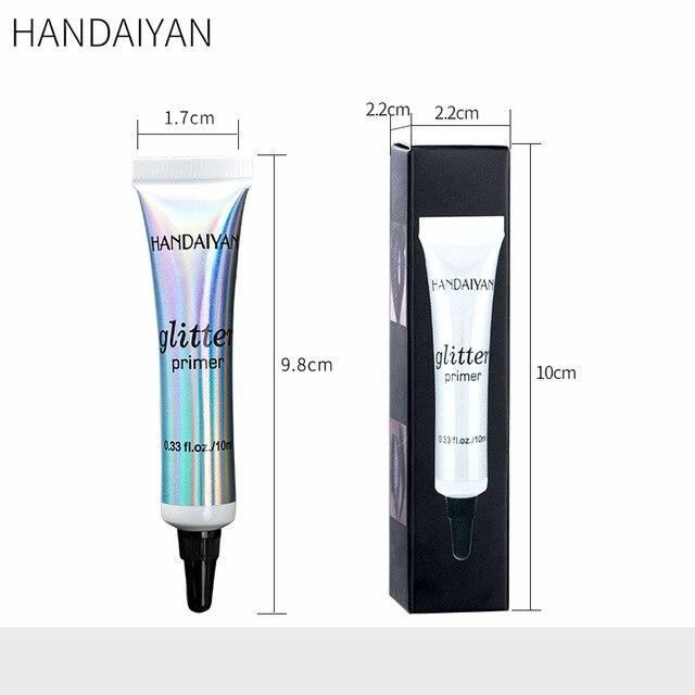 HANDAIYAN Makeup Glitter Primer Long Lasting Eyeshadow Color Special Primer For Eyes Light Milk Cream Texture Cosmetics 5