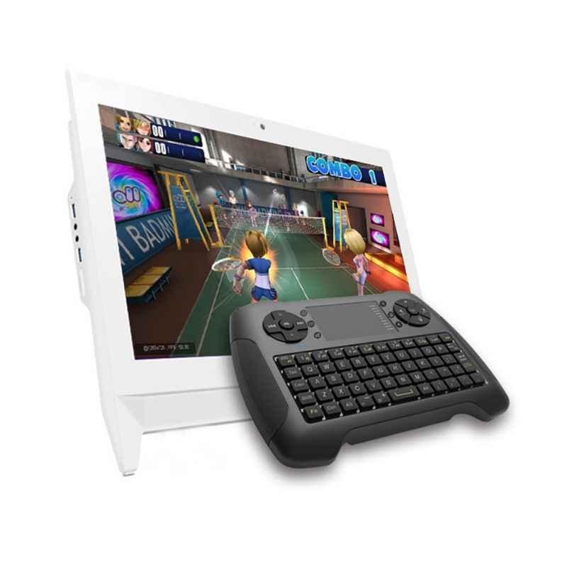 Беспроводная воздушная мышь с сенсорной панелью портативная клавиатура мыши комбинированный пульт дистанционного управления для настольного компьютера/ноутбука/Smart tv Teclado