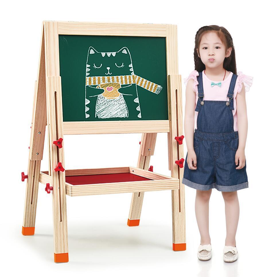 Enfants marque Double face Sketchpad chevalet magnétique planche à dessin petit tableau noir enfants 106 multi-fonctionnel planche à dessin
