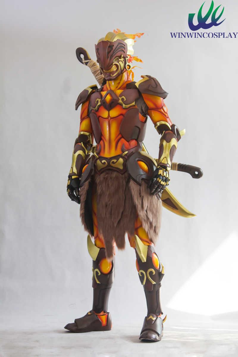Oyun DÜŞÜK Overwatch Shimada Genji cosplay kostüm Cadılar Bayramı Uzatma cosplay