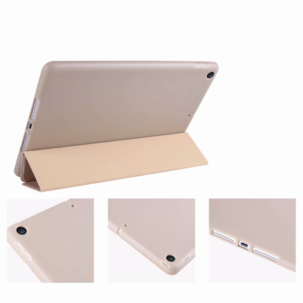 For 10.2 Slim Soft Smart For Case Cover TPU 10 Tablet iPad Ipad 2 Tri-fold light Case