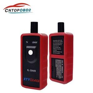Новейший автомобильный датчик контроля давления в шинах, датчик EL 50448 EL 50449 TPMS для Ford для GM TPMS, инструмент для активации и сброса, сканер TPMS с ф...