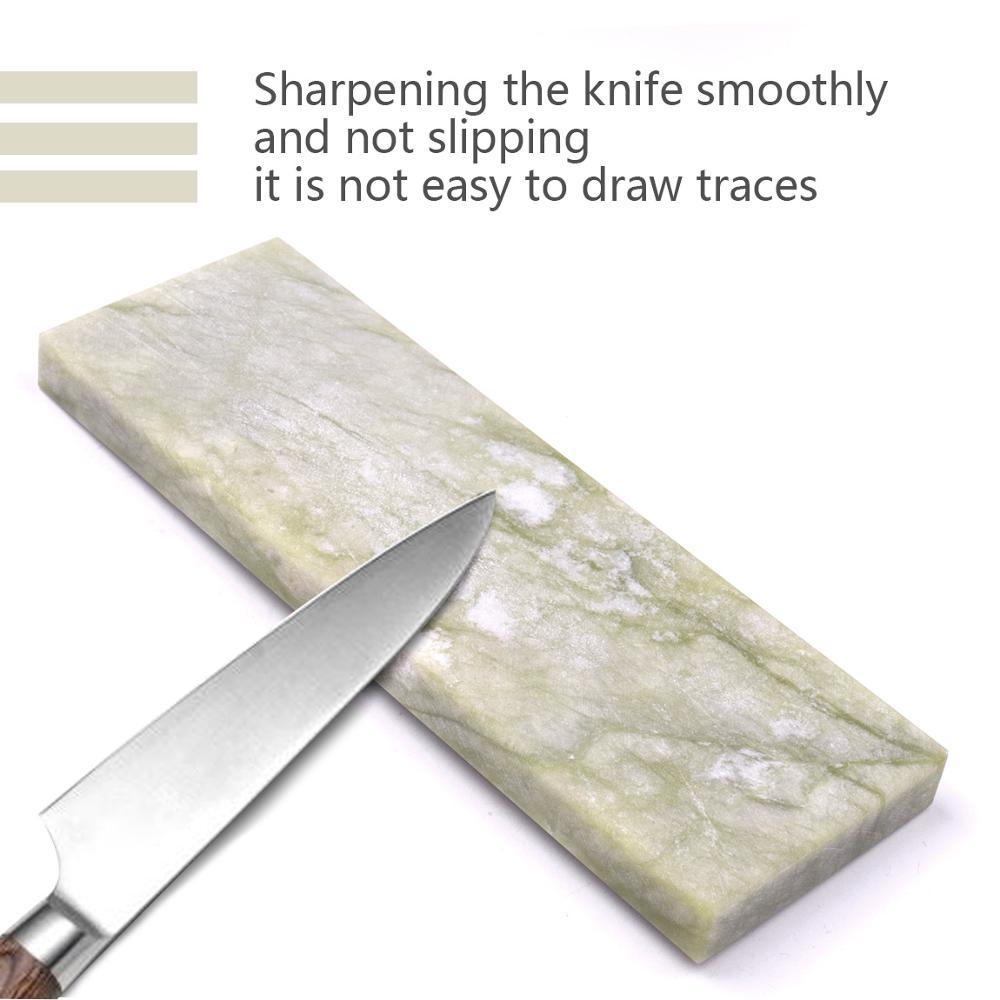 1pc 10000 Grit Oilstone Knife Sharpener Sharpening Whetstone Oil Stone Nature Jade Grindstone 50/100*20*10mm 100/150*50*10mm