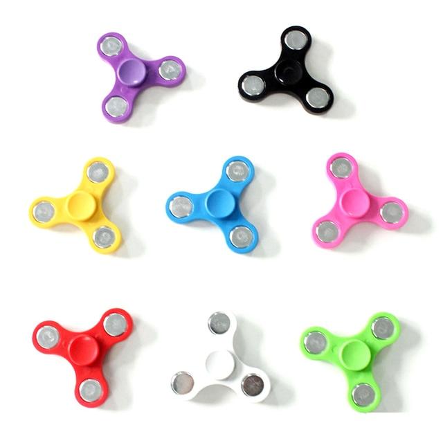 ใหม่ล่าสุด MINI Hand SPINNER นิ้วมือ Gyro Tri SPINNER EDC Sensory สำหรับออทิสติก ADHD เด็ก/ผู้ใหญ่ของเล่นป้องกันความเครียด