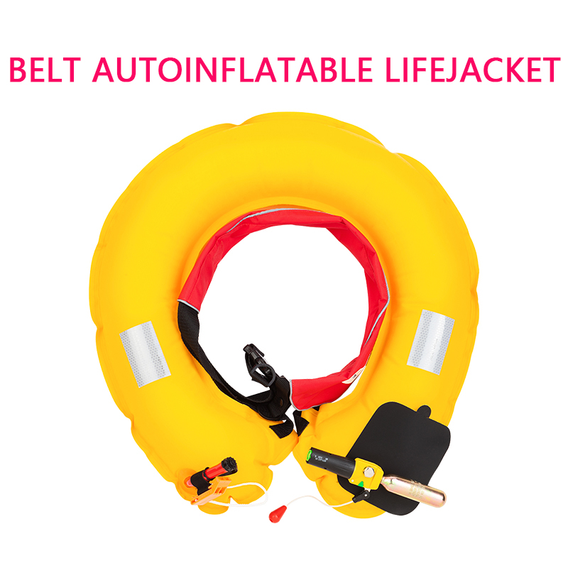 SXY FISHING BELT AUTOINFLATABLE LIFEJACKET Inflatable lifebuoy Life saving equipment