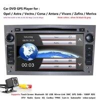 2 din Car DVD Stereo for Vauxhall Opel Astra H G Vectra Antara Zafira Corsa GPS Navi Radio RDS DTV SWC BT Mirror Link 16G SD MAP