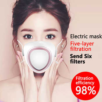 Protective Mask Adult Bicycle Mask Child Filter Electric Mask Air Purification Mask Silicone Mask