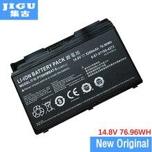 JIGU Original 6-87-X710S-4J73 6-87-X510S-4J73 P150HMBAT-8 Laptop Battery For CLEVO P170SM P150 P170 P150SM P170HM 14.8V 76.96WH