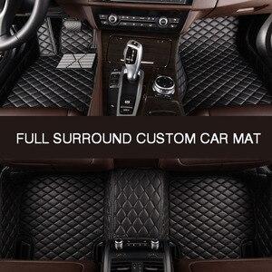 Image 5 - HLFNTF tapis de sol de voiture personnalisé, surround complet, accessoires de voiture pour skoda superbe 2017 kodiaq yeti octavia rs 1 fabia karoq rapid 2017