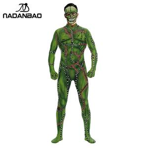 Image 4 - NADANBAO 2019 Purim Carnival Cosplay Joker COS Costumes For Women Clothing Cosplay Bodysuit Movie Costume Clown Catsuits
