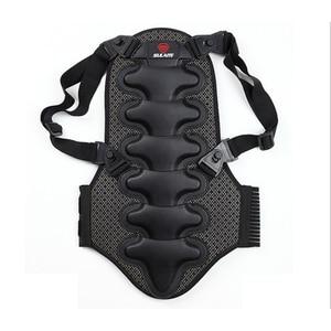 Image 1 - 2019 kayak spor geri yelek koruma yeni çıkarılabilir kayak vücut zırhı Backpiece arka koruyucu koruyucu vücut omurga siyah