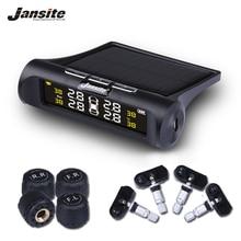 Jansite умный автомобиль TPMS система контроля давления в шинах Солнечная энергия цифровой ЖК-дисплей Автоматическая охранная сигнализация s давление в шинах
