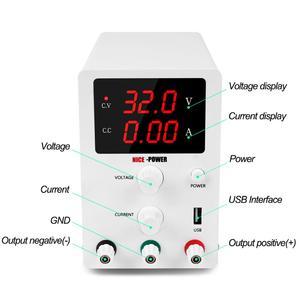 Image 3 - Lab Adjustable Power Supply 60V 5A  30V 10A Laboratory Voltage Regulator Source Switching Mini Unit Voltage Stabilizer 110v 220v
