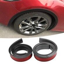 Расширитель крыла автомобиля расширение колеса защита арки губ колесо-арка отделка колеса Изогнутые Брови декоративные полосы автомобиля