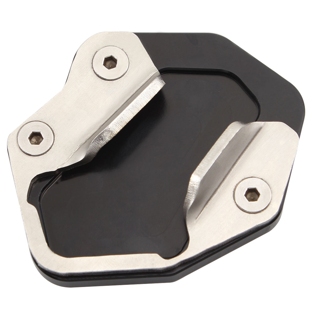 Motorcycle Side Kickstand Stand Extension Support Plate Aluminum Alloy For Triumph Tiger 800 XC XCX XCA XR XRX XRT 2010-2017