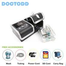 Doctodd Gii Cpap Gezondheidszorg Portable Cpap Machine Voor Anti Snurken Copd Cpap Ventilator Met 4G Geheugenkaart Cpap W/Gratis Onderdelen