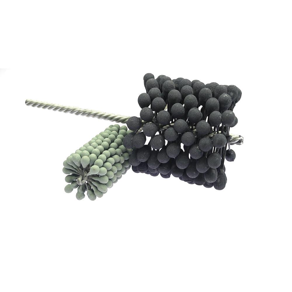 1 Piece Dia. 6-88mm Pipe Polishing Ball-head Grinding Wheel Brush