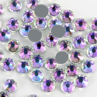 Upriver High Quality A++ Large Packing Moon Stone Iron on Rhinestone SS4 SS30 Hotfix Rhinestones Grade for Luxury DIY things