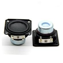 Sotamia caixa de som magnética woofer, 2 peças, 48mm, 4 ohm 10w, graves magnéticos, alto falante diy multimídia, bluetooth motorista de alto falante