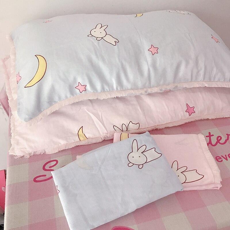 48x74cm Sailor Moon Luna Cat Anime Action Figure Printed Cotton Pillowcase Cartoon Style Tsukino Usagi Pillow Cover Home Decor