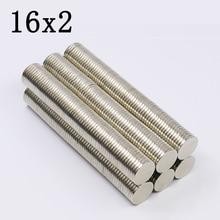 30Pcs 16x2 Neodymium Magnet…