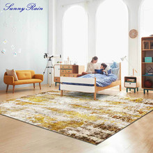 SunnyRain 1-piece Carpet for Living Room Large Area Rugs for Bedroom  Rugs and Carpets for Home Living Room simple modern thicken lamb velvet rug bedside bedroom soft carpets for living room decor carpet can custom home large area rugs