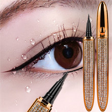 Magic Zelfklevende Vloeibare Eyeliner Potlood Lijm-Gratis Magnetische-Gratis Voor Wimpers Waterproof Eye Liner Pen Make cosmetische