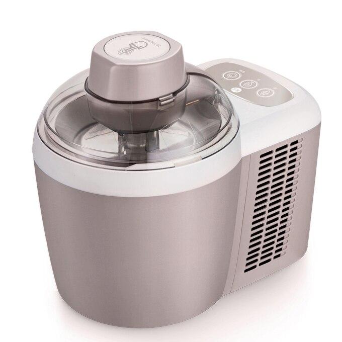 600ml 220V 90W maison Mini Machine à crème glacée aux fruits automatique Machine à crème glacée molle/dure enfants bricolage Machine à crème glacée
