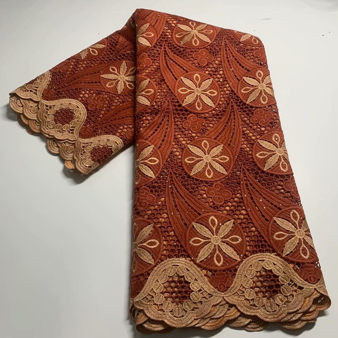 TG28 Nice embroidery  guipure lace fabric,African Dresses for birthday celebrations