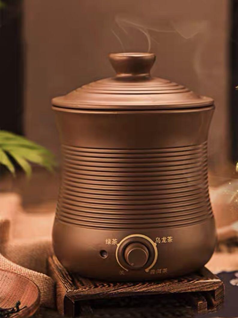tea coffee medicine aroma herbal awakener tea aroma coffee herbal scented tea Titian Censer mini electric tea roaster dryer(China)